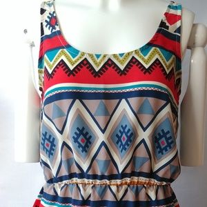 Cinched Tank Top Size S/M